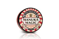 Manuka Magic 100 gram, medicinale Manuka honing crème bevordert herstel van geïrriteerde (probleem)huid. Doeltreffend als onderhoudscrème bij psoriasis en eczeem.