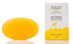 Zeep: Manuka Honing en kamille/calendula zeep Full of grace, 85 gram